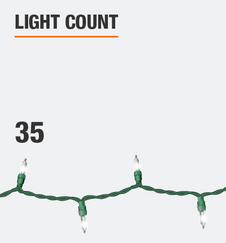Light count is 35