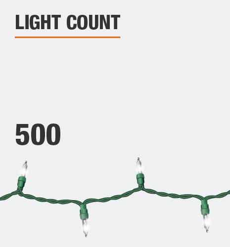 Light count is 500