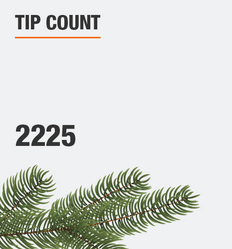 The tip count is 2225