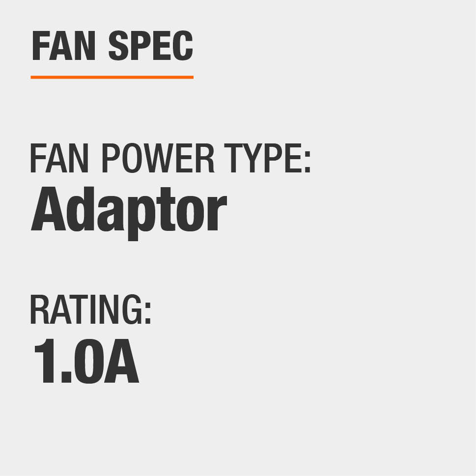 Power Type is Adaptor