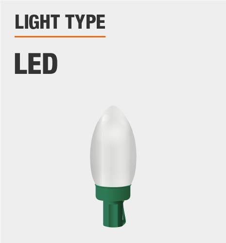 Light type is LED