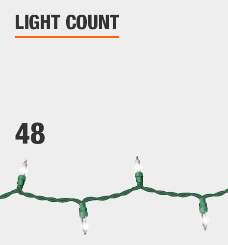 The light count is 48