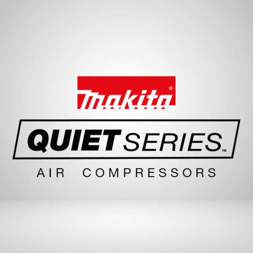 Makita quiet series small air compressors for home improvement, pro use, air tools