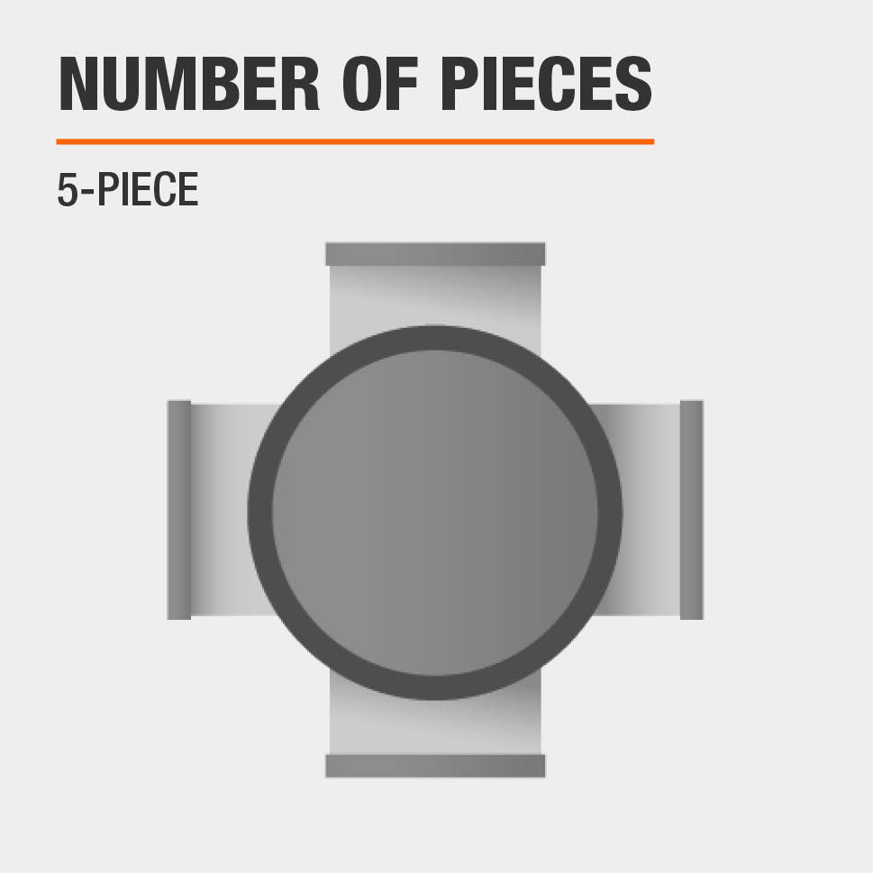Number of Pieces 5-Piece