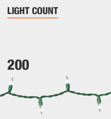 The light count is 200