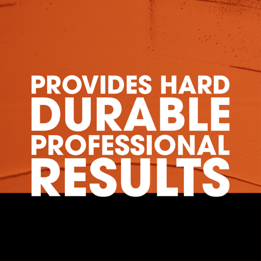 Provides durable results