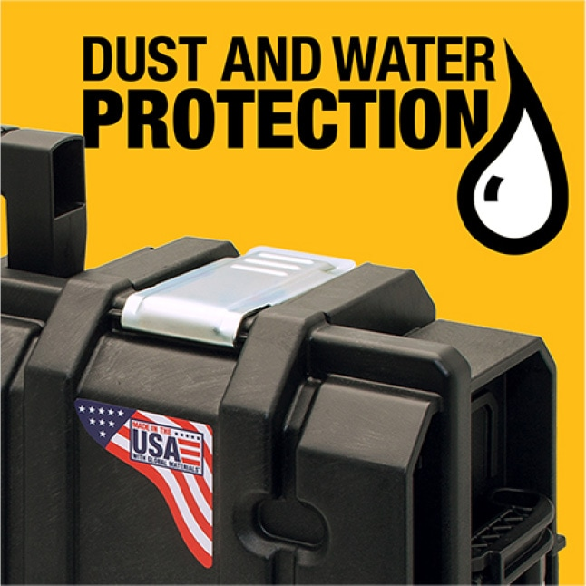 ToughSystem Toolbox water seal