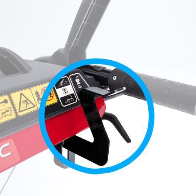image showing quick adjust lever