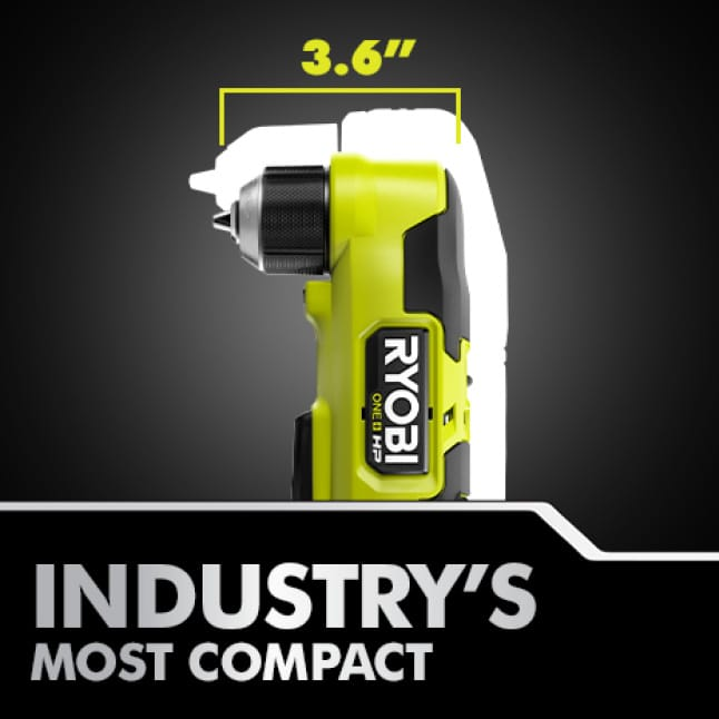 """Most Compact 18V 3/8"""" Right Angle Drill"""