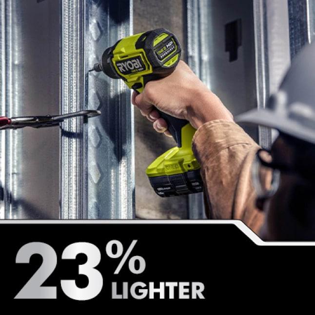 Impact: 23% Lighter Weight