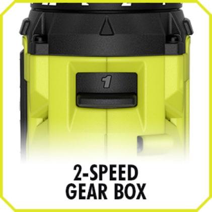 Drill: 2-Speed Gearbox