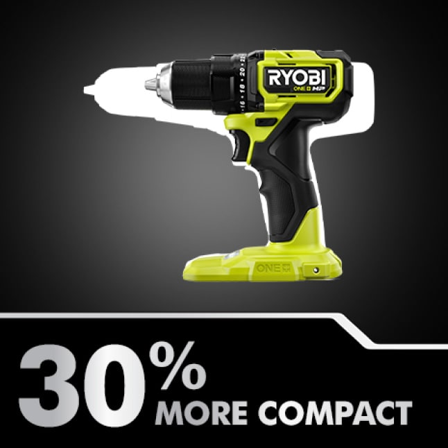 Drill: 30% More Compact