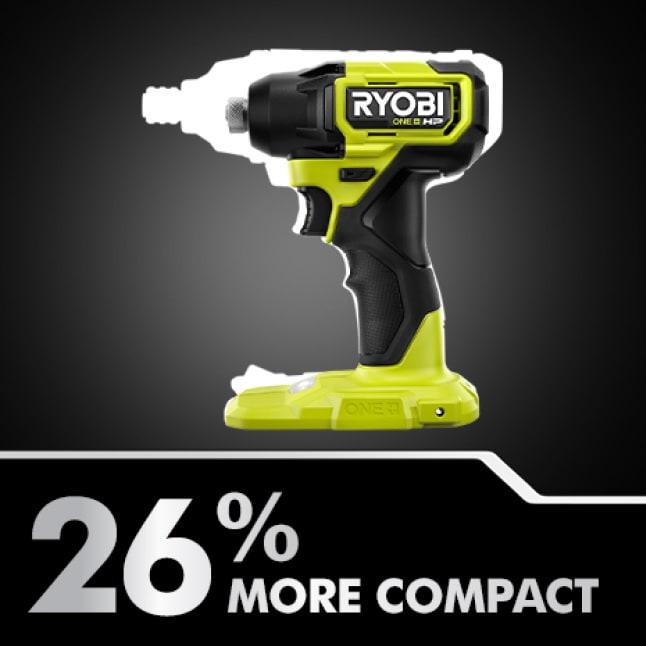 Impact: 26% More Compact