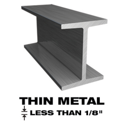 This is an image of thin metal