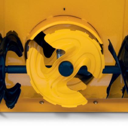 Cub Cadet three-stage snow blower, heavy duty gear-box