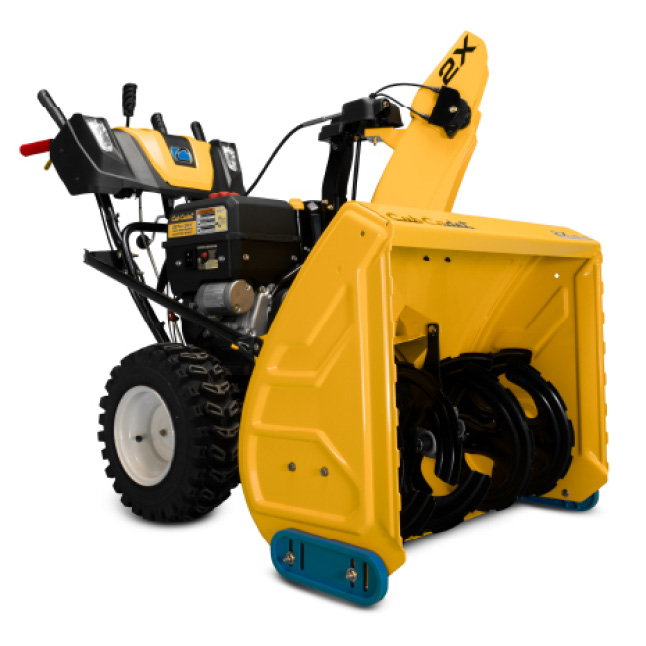 Cub Cadet two-stage snow blower, commercial- grade features and durability