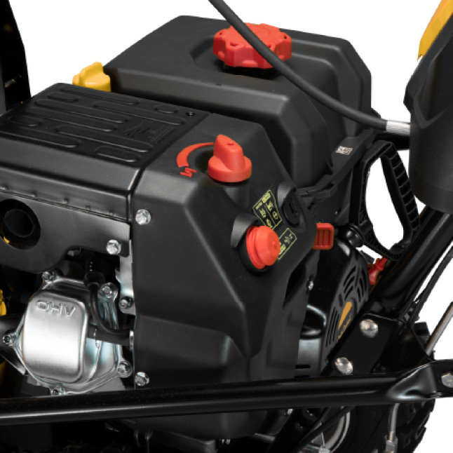 Cub Cadet two-stage snow blower, OHV engine, electric start
