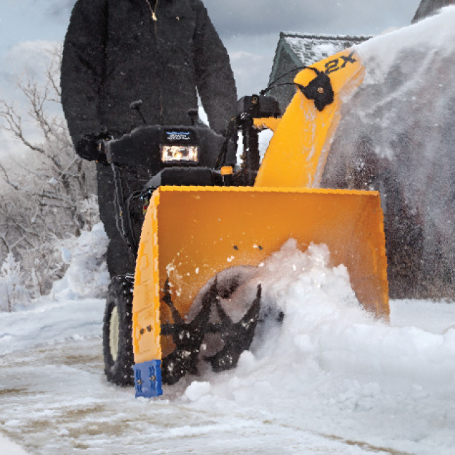 """Cub Cadet two-stage snow blower, 23"""" intake height"""