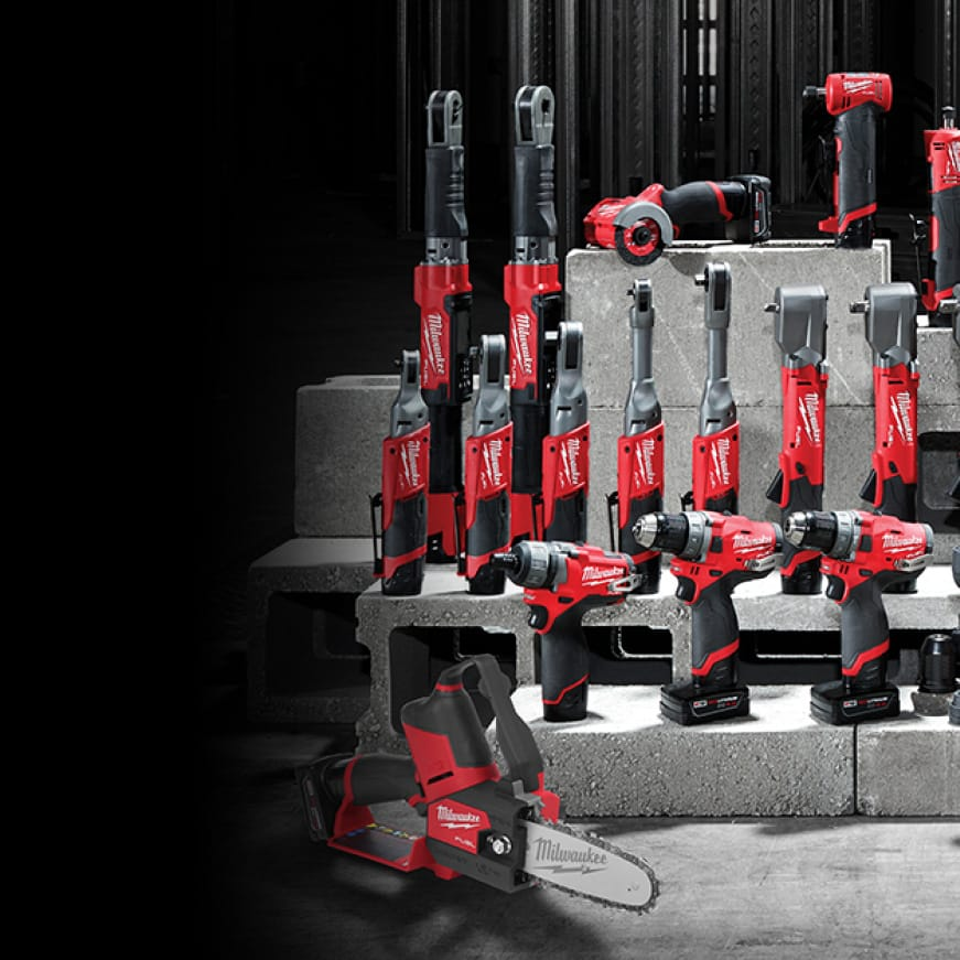 M12 FUEL cordless tools are lightweight and ergonomic