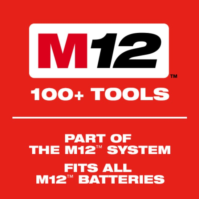 The Milwaukee M12 System offers over 100 cordless solutions.