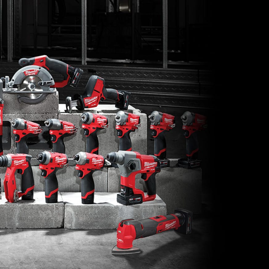 M12 FUEL tools offer the best combination of technology for best in class performance.