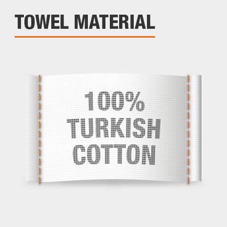 100% Turkish Cotton Bath Towels