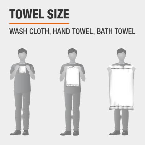 Bath Towel Set Sizes