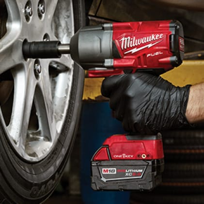 Professional performs faster tire service without the hassle of pneumatic hoses, compressors, and torque sticks.