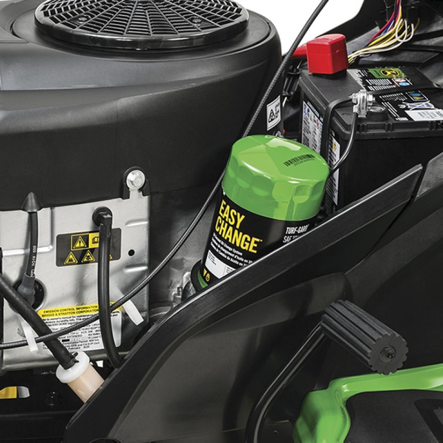 Image showing John Deere Industry Exclusive 30 second oil change