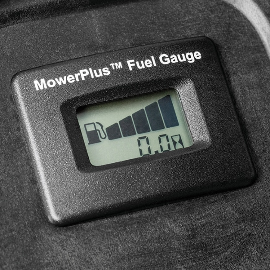 Image showing easy read fuel gauge