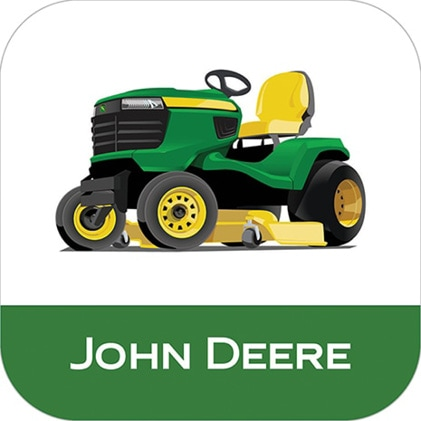 Image that shows the John Deere MowerPlus app