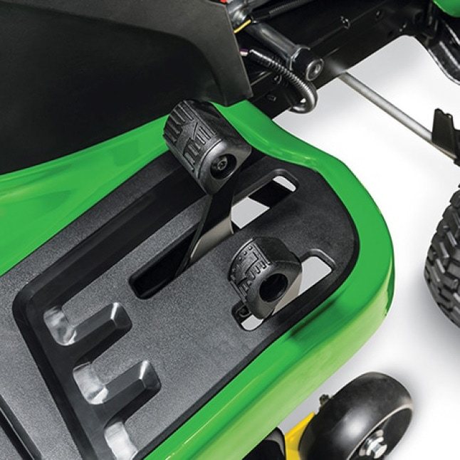 Image showing forward and reverse pedals on S180