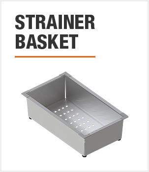 Included Strainer Basket