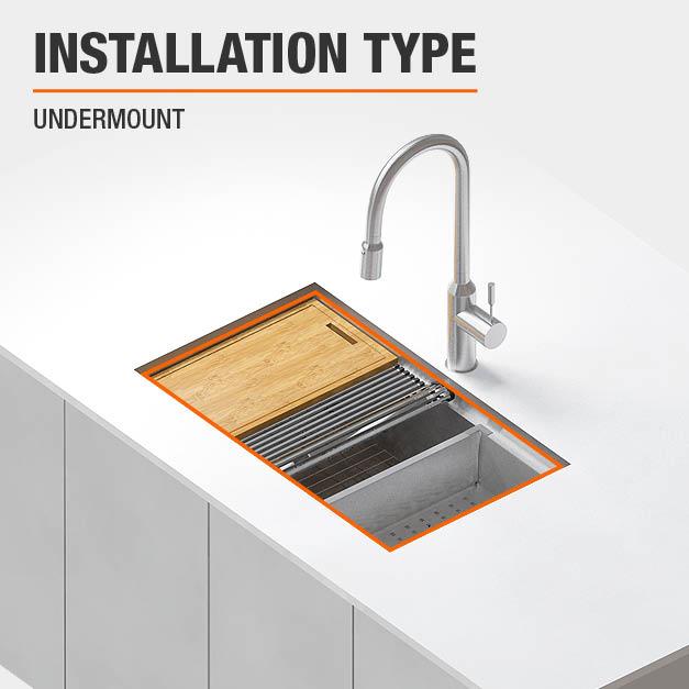 Sink Installation Type Undermount