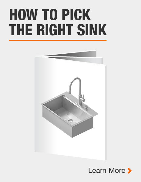 How to Pick The Right Sink, Kitchen Sink Buying Guide