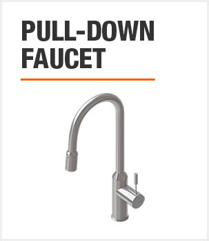 Included Pull-Down Faucet