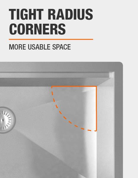 Tight Radius Corners