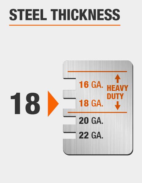 18-Gauge Steel Thickness