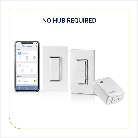 Leviton Decora Smart Wi-Fi 15A LED/ Switch, No Hub Required, Works with  Alexa, Google Assistant and Nest