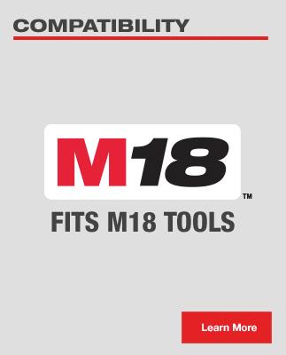 Fits M18 Tools