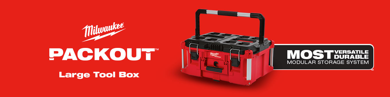 af2b8f2010e Milwaukee PACKOUT 22 in. Large Tool Box-48-22-8425 - The Home Depot