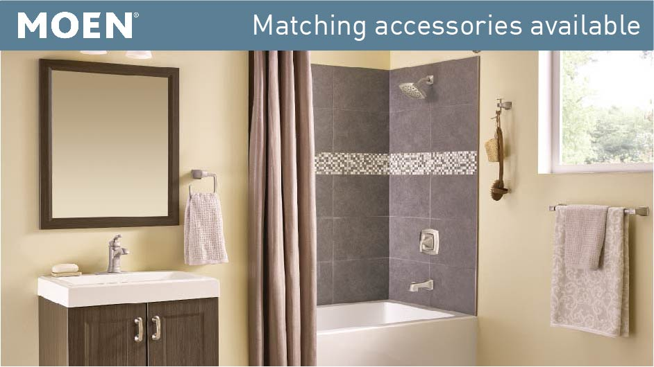 Moen Hensley Single Handle 1 Spray Tub And Shower Faucet