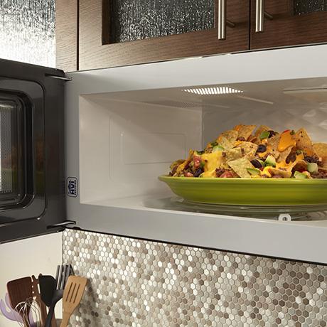 90¼ Hinge Door Install Your Microwave Hood