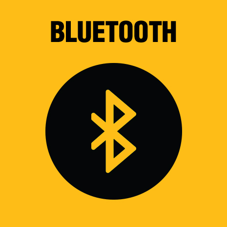 Integrated Bluetooth technology allows you to connect to the free app and inventory manager web portal to track, manage and customize the tool.