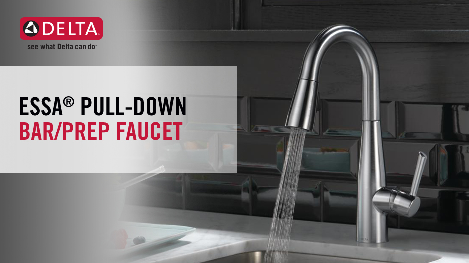 Delta Essa Single Handle Bar Faucet