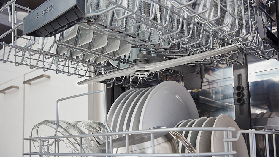 Bosch dishwasher PrecisionWash system