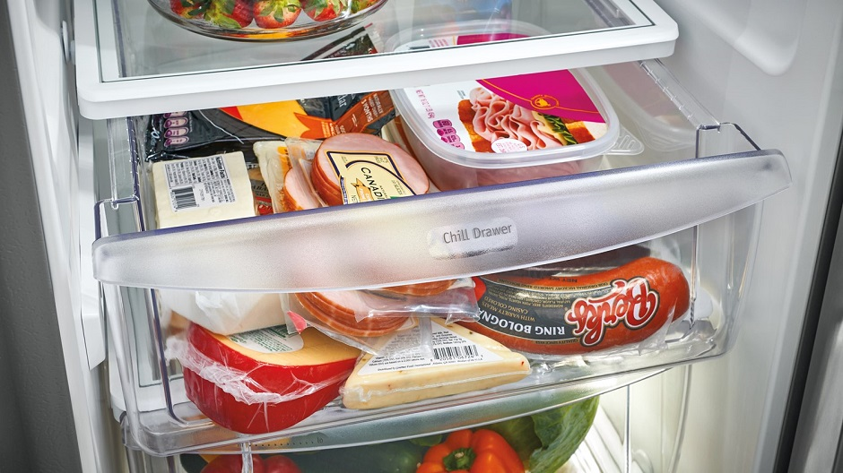 Chill Drawer with food