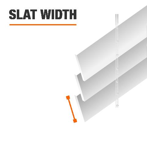 Slat Width