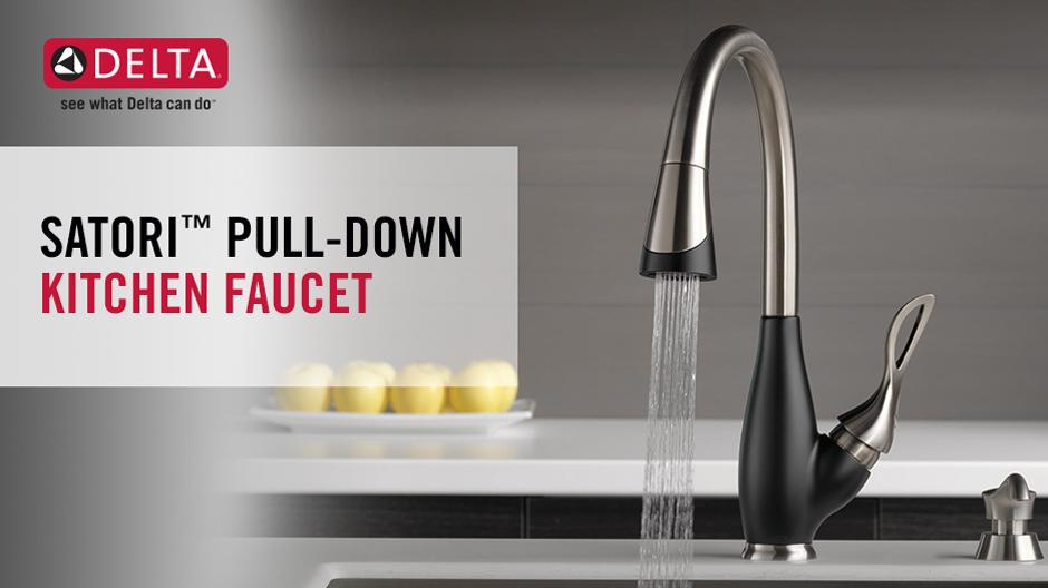 Delta Satori Pull Down Kitchen Faucet