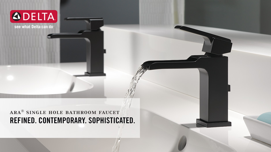 Ara Single-Handle Waterfall Bathroom Faucet